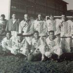 554a Fastnächtliche Fußballer der Hexengilde um 1960