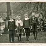 558 Hermann Sum vom Schornhof auf dem Schwarzenbruch (zweiter von rechts)