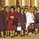 559 Hildegard Echle mit ihren Alterskameraden und Alterskameradinnen