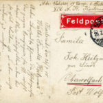 567b Rückseite der Karte von Josef Scherer aus dem Ersten Weltkrieg.