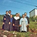 571 Bei Herneste (Schmider) auf dem Schwarzenbruch um 1970 - im Hintergrund die Seilbahn zur Grube Klara