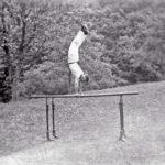 573 Bild auf Glasplatte wohl um 1930