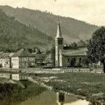 585 Ak Evangelische Kirche in Wolfach um 1930