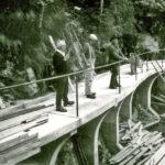 588a Radwegbau in Wolfach um 1990