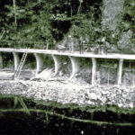 Radwegbau in Wolfach um 1990