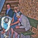593 Sommerabend-Schwätzle auf Grünach um 1970