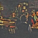 597 Weihnachten in der Kreuzsattelhütte um 1970