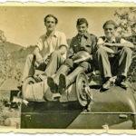 617 Aktive von der Feuerwehr um 1950 u. a. mit Baiersbauer Groß