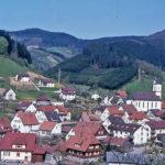 625 Blick auf den Ortsteil Kirche um 1970