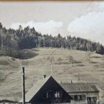 626 Blick auf den noch unverbauten Kirchberg um 1940