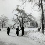 748 Schneewinter um 1950