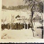 750 Musikkapelle um 1950 bei Bachwebers auf Grünach